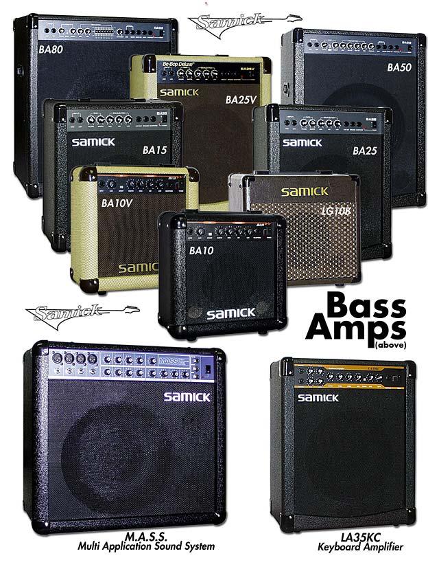 Samick Bass Amp Samick Bass Amps Multi